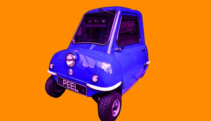 Peel P50 Review - The World's Smallest Car